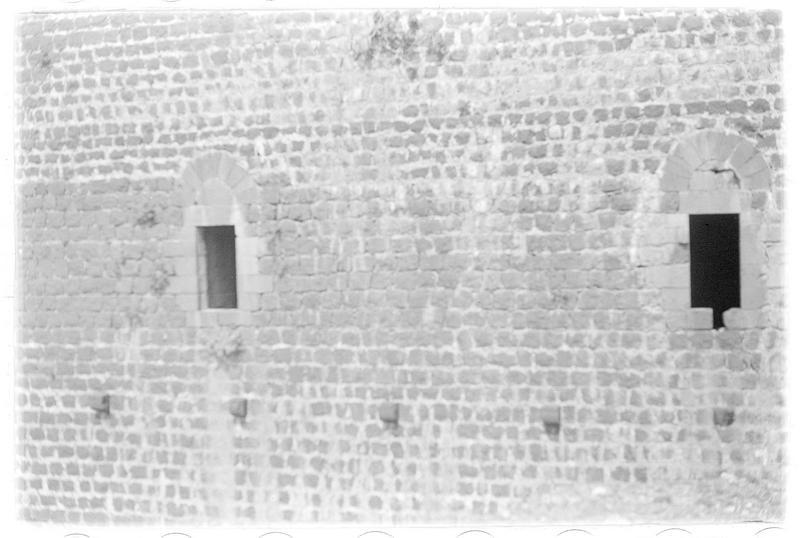 Détail de fenêtres du château
