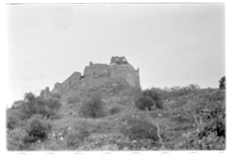Vue extérieure de la tour éperon