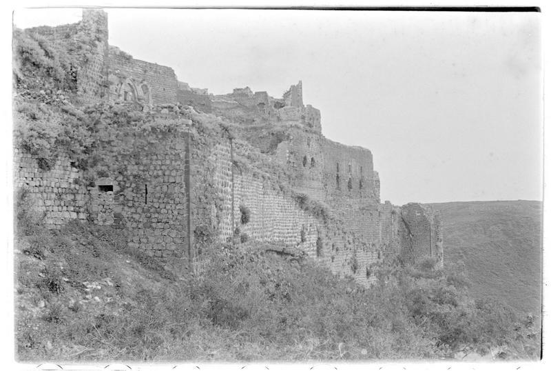 Vue générale extérieure du château