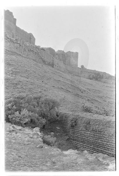 Le grand berquil avec le château en arrière-plan