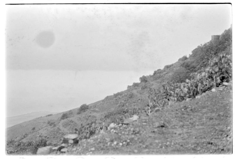 Vue du versant sud-ouest du château