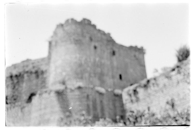 Vue extérieure du château