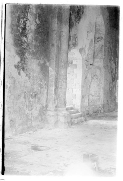 Vue intérieure de la chapelle