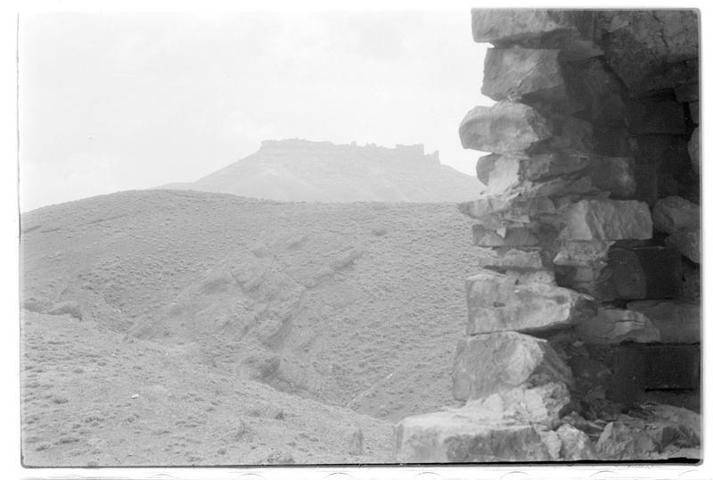 Vue générale de Margat depuis la tour