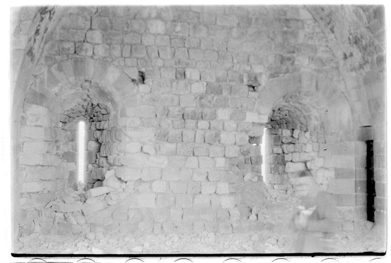 Vue intérieure de la tour