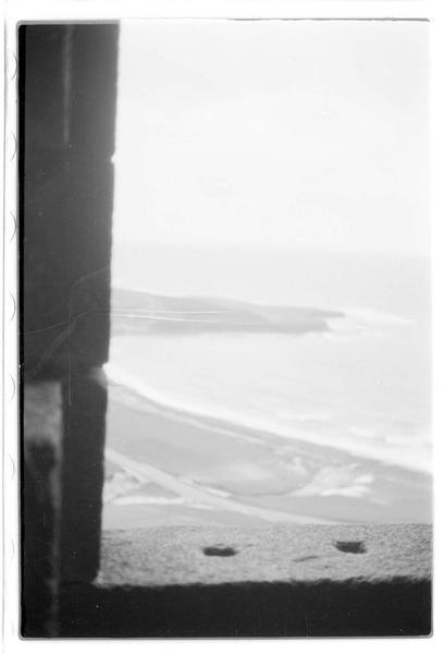 Vue de la mer depuis la tour