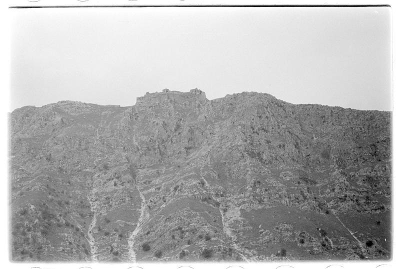 Vue d'ensemble depuis la vallée du Litani