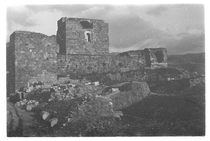 Vue générale du château (face ouest)