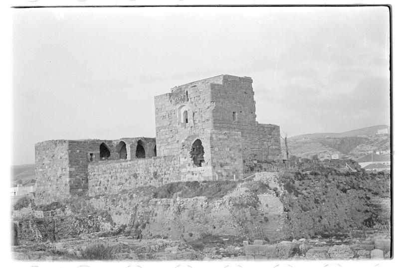 Vue générale du château (face sud-ouest)