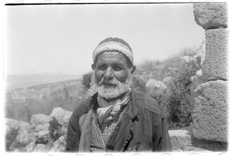 Portrait d'un autochtone
