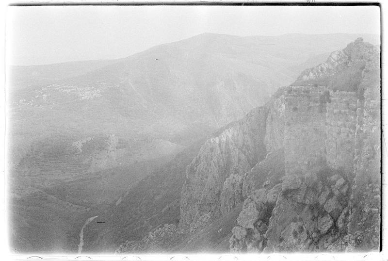 Vallée du Litani vue depuis le nord