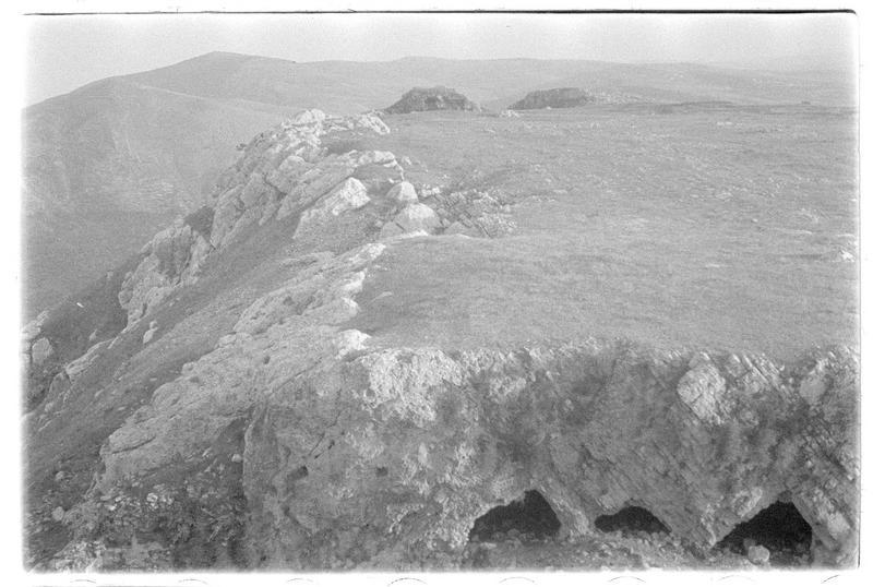 Vue du plateau au sud du château