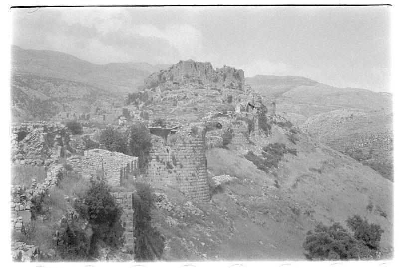 Vue générale de l'extérieur du château