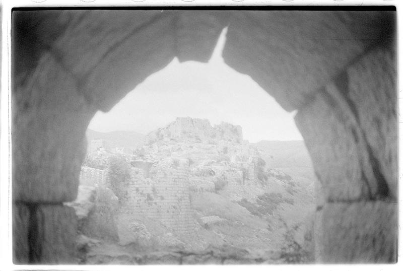 Vue du château haut depuis une tour