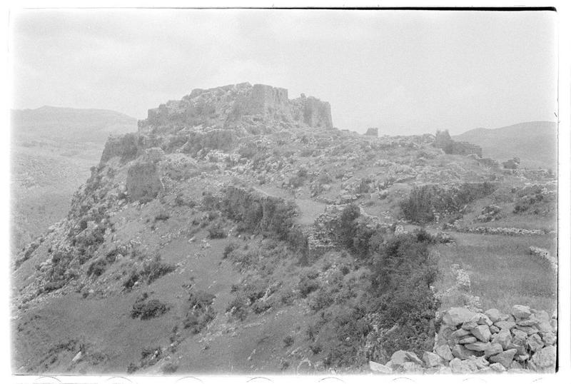 Vue extérieure du château haut, face nord