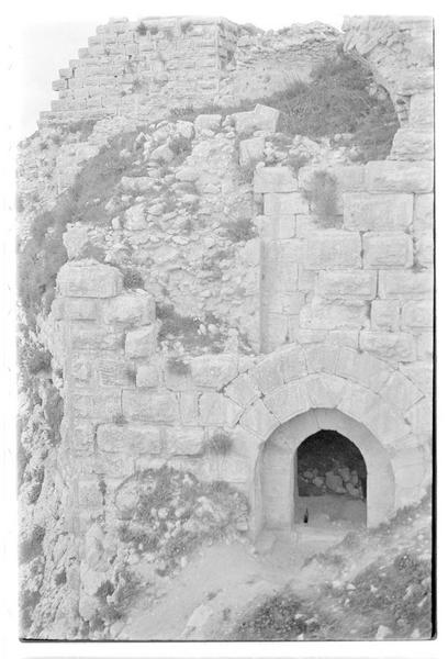 Vue de la grande porte
