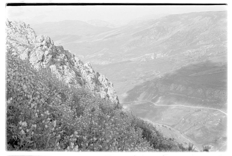 Vue sur la vallée du Litani