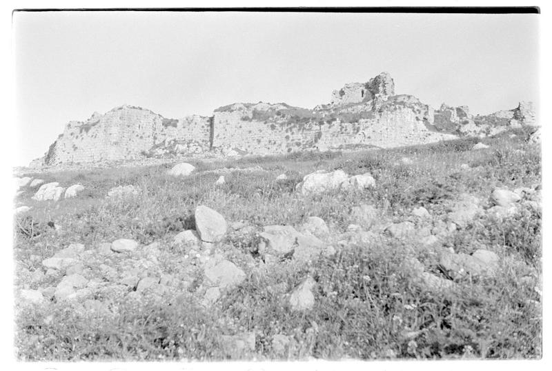 Front ouest du château