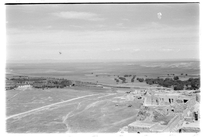 Vue de la plaine au nord du château