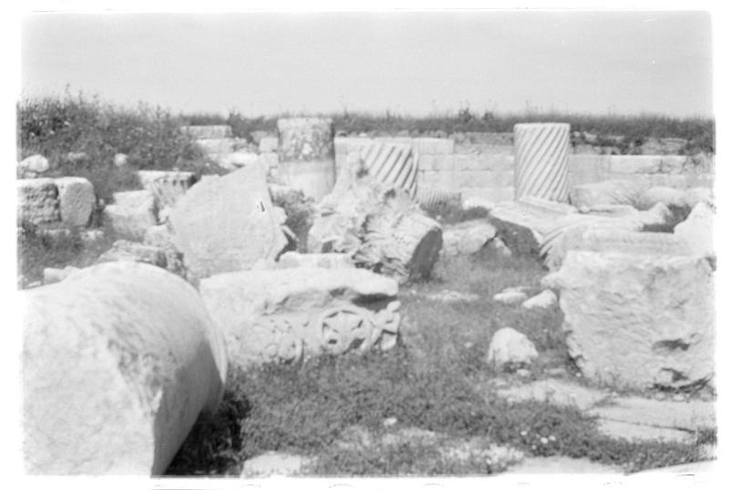 Vue du site antique