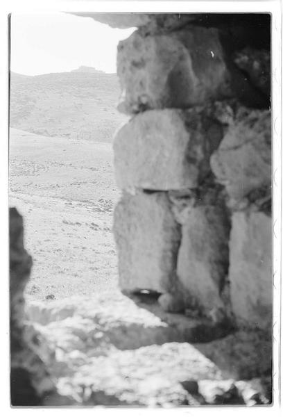 Vue du château depuis la tour de Burj Dayr Al-Shummayli