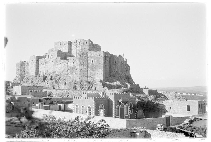 Front sud du château
