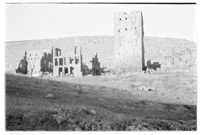 Vue sur la partie monastère (supposée)