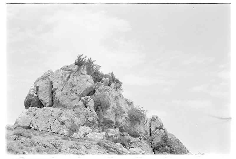 Pointe rocheuse aux alentours du château