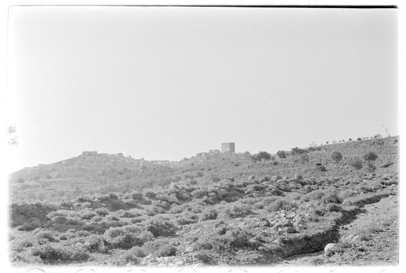 Vue générale du château et de la ville