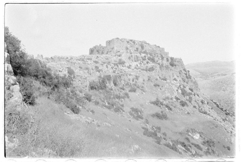 Le château haut et le front nord
