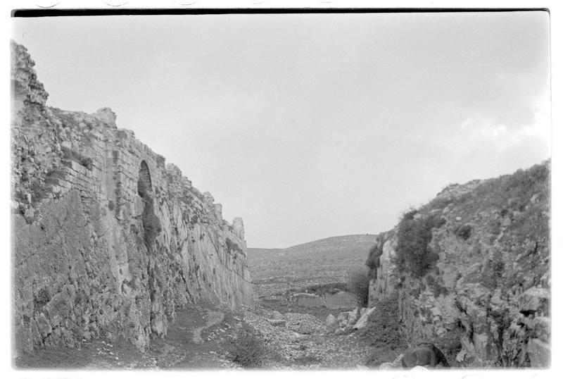 Le grand fossé du front nord