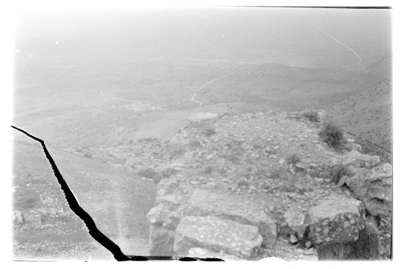 Le nord de la Galilée vu du château de Subeibe