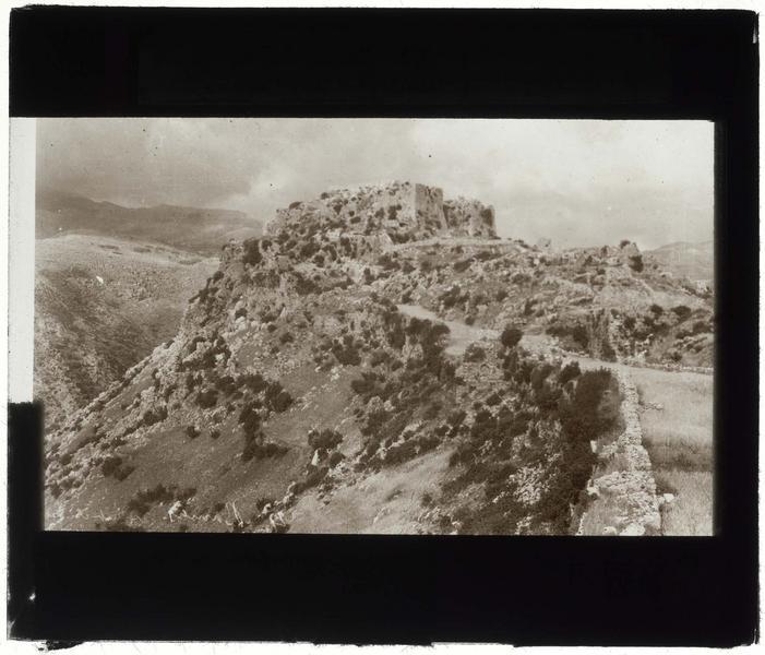 Vue extérieure du château haut