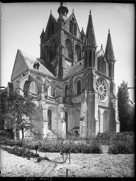 Transept sud : façade
