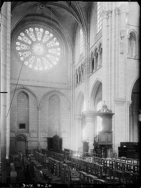 Transept nord : intérieur
