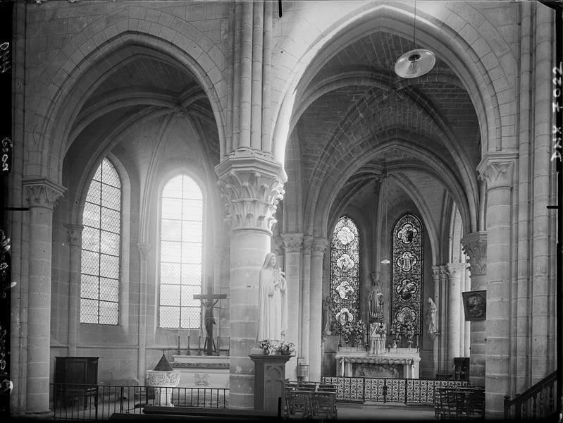Intérieur : chapelle nord