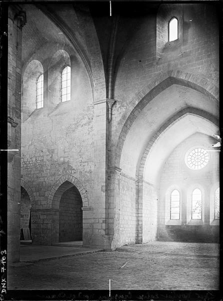 Eglise : croisillon nord et choeur