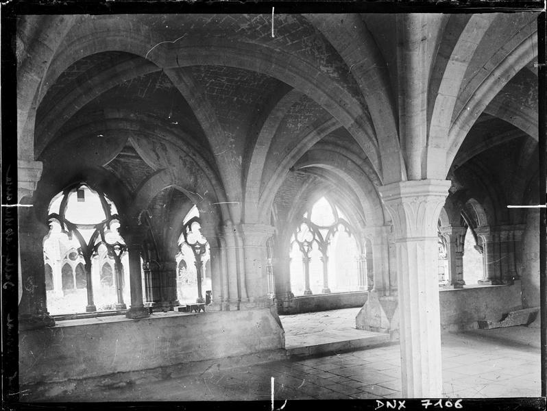Salle capitulaire et galerie est du cloître