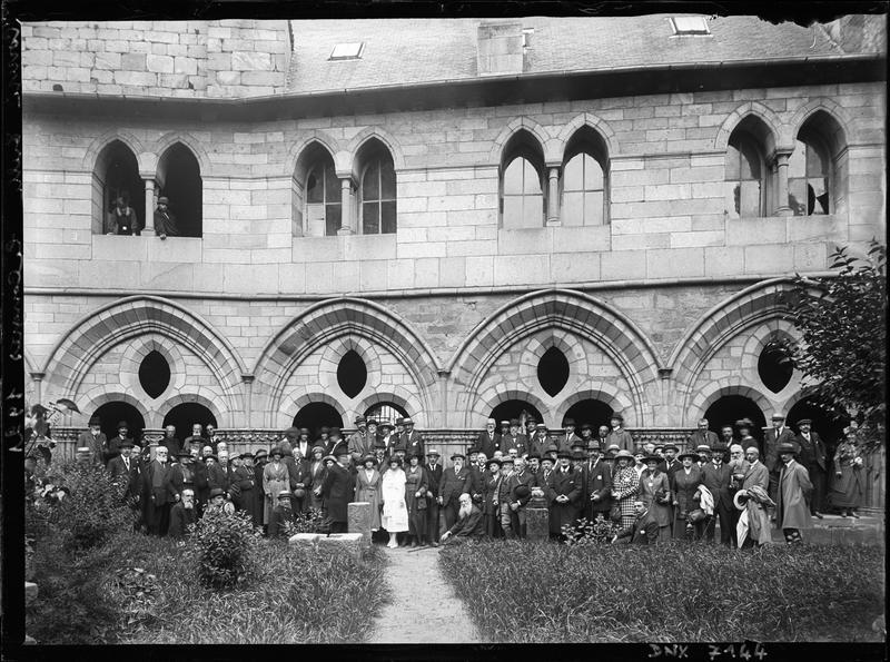 Congrès de 1921 : photographie de groupe