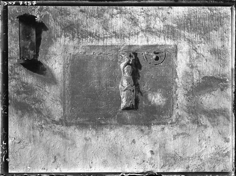 Plaques funéraires de Boson et de Gaubert