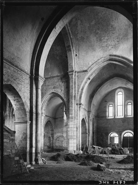 Eglise : croisée du transept