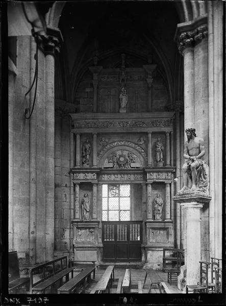 Chapelle latérale : retable