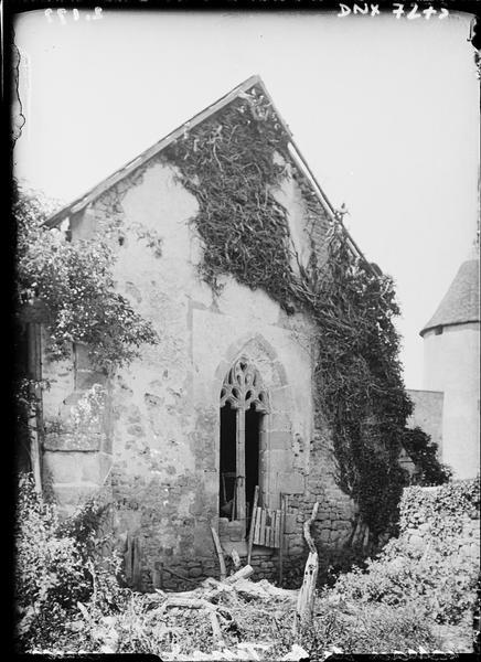 Chapelle du XVe siècle : chevet