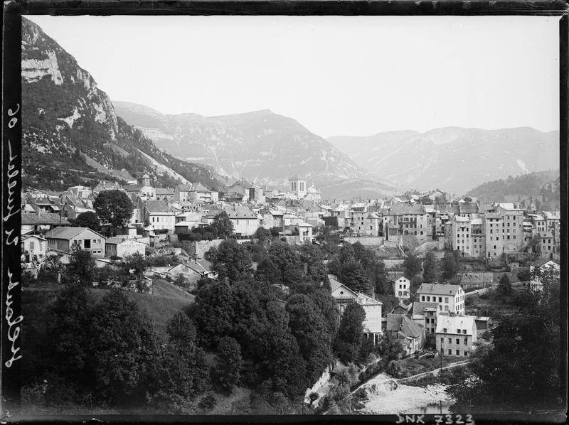 La ville : vue générale