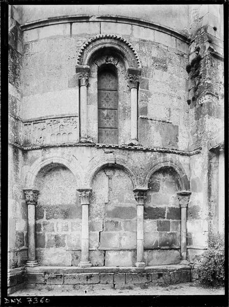 Abside, arcatures et bas-relief : la Jérusalem céleste