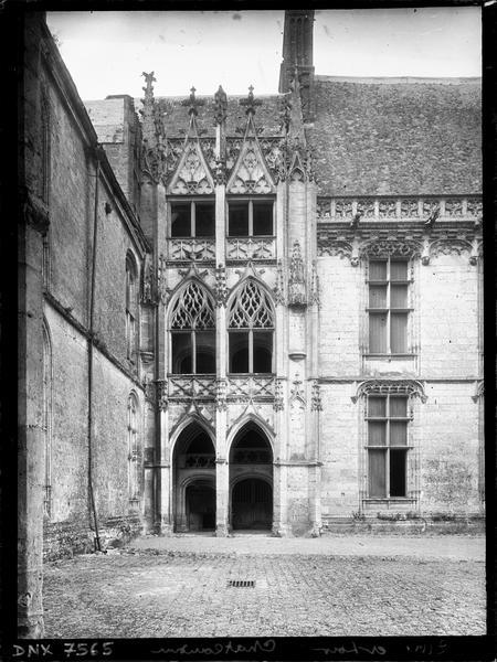 Escalier gothique