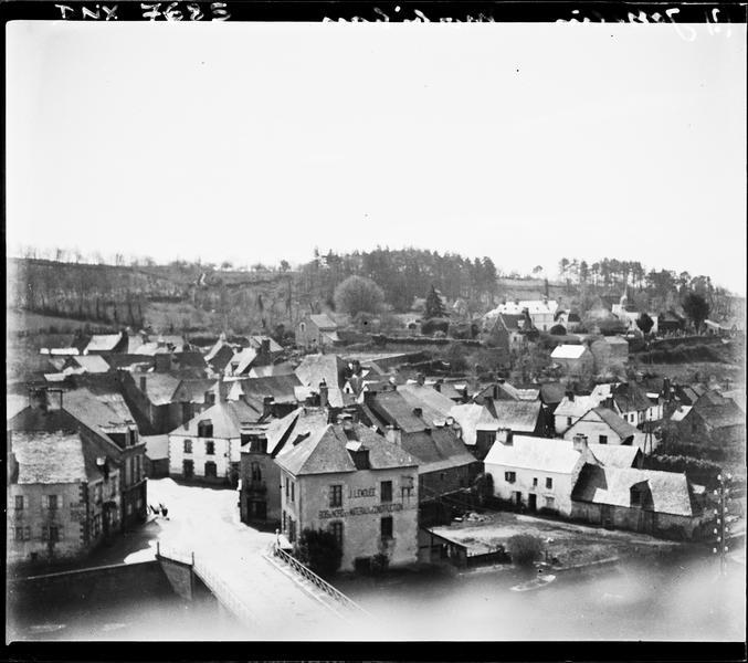 La ville : vue panoramique