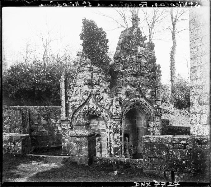 Fontaine de Saint-Nicodème : vue d'ensemble