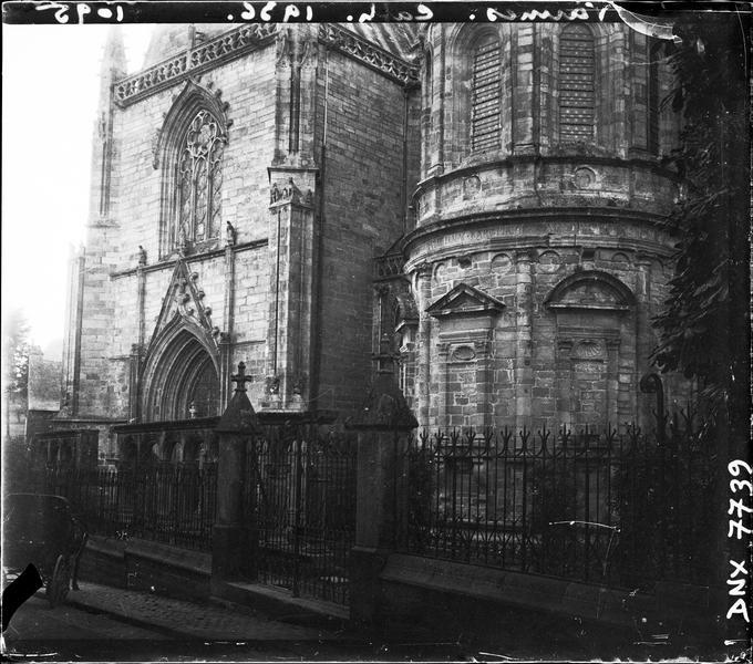 Transept nord : partie basse