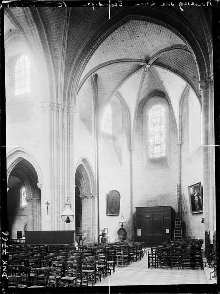 Intérieur : transept